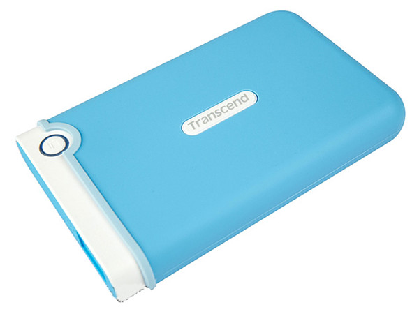 Внешний жесткий диск 2Tb Transcend StoreJet 25M3 Голубой TS2TSJ25M3B 2.5 USB 3.0