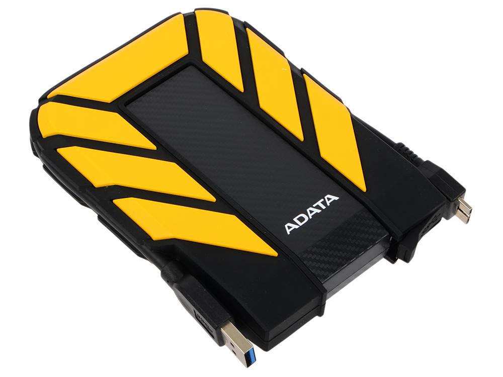 "Картинка для ""Внешний жесткий диск 1Tb A-DATA HD710 желтый AHD710-1TU3-CYL (2.5"""" USB 3.0)"""