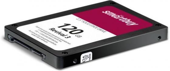 SSD накопитель Smartbuy Revival 3 SB120GB-RVVL3-25SAT3 120GB SATA III/2.5 drevo x1 ssd hard drive120gb 2 5 inch sata iii solid state drive sata3 internal hd disk for laptop and pc