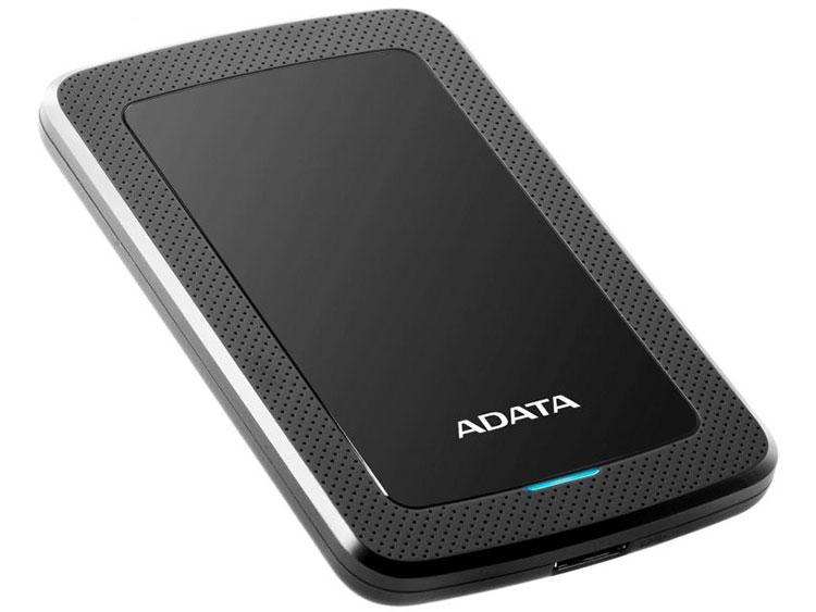 Жесткий диск A-Data USB 3.0 2Tb AHV300-2TU31-CBK HV300 2.5 черный внешний жесткий диск 2 5 usb3 0 2tb adata hd710p ahd710p 2tu31 cbk черный