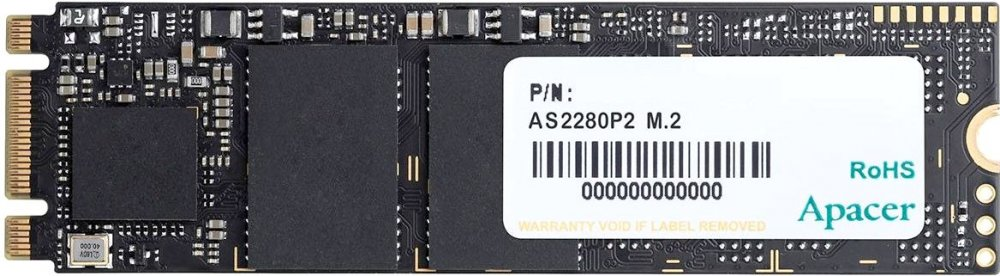 SSD накопитель Apacer AS2280P2 AP120GAS2280P2-1 120GB PCI-E/2280 накопитель ssd corsair cssd f120gbmp500 120gb cssd f120gbmp500