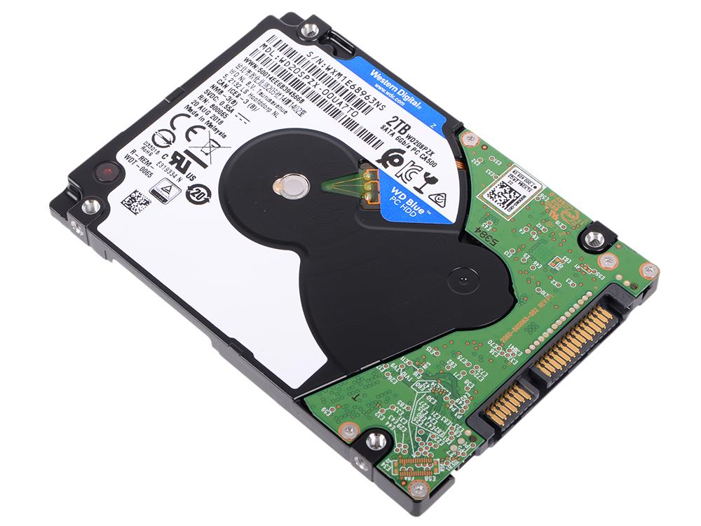 Жесткий диск WD Blue WD20SPZX 2TB SATA III/2.5