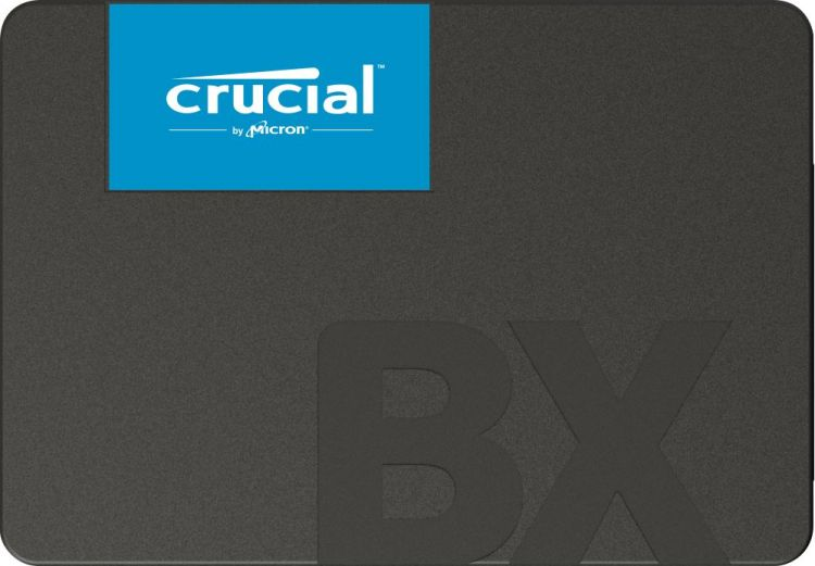 SSD накопитель Crucial Micron BX500 CT120BX500SSD1 120GB SATA III/2.5 hp ssd 120gb internal solid state disk hard drive sataiii sata 3 2 5 inch 7mm professional ssd for notebook laptop desktop pc