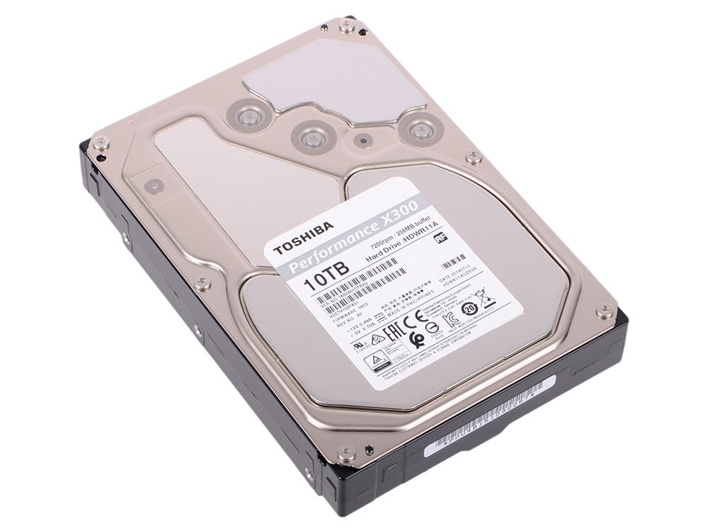 Жесткий диск Toshiba X300 HDWR11AUZSVA/HDETV10ZPA51F 10TB SATA III/3.5