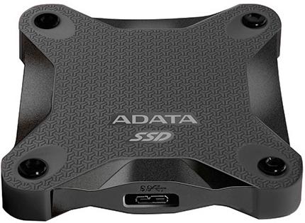 Внешний жесткий диск Adata SD600 ASD600-512GU31-CBK SSD 512GB USB3.1 цена 2017