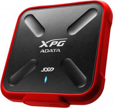 Внешний жесткий диск SSD Adata SD700 ASD700-1TU3-CRD 1TB USB3.1 цена