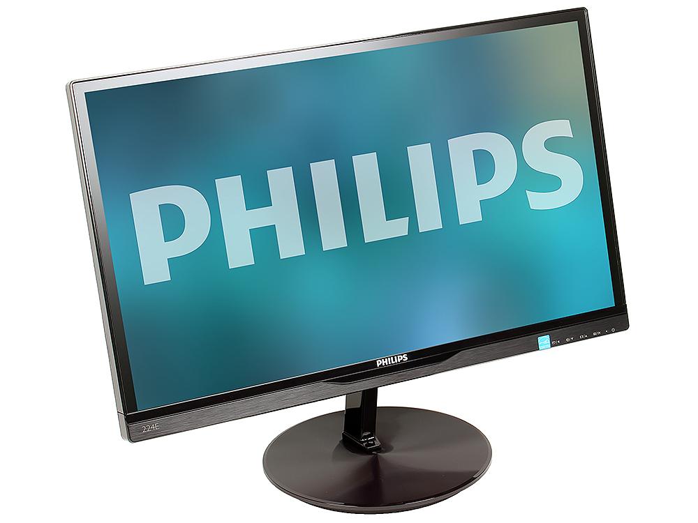 224E5QSB монитор philips 224e5qsb black