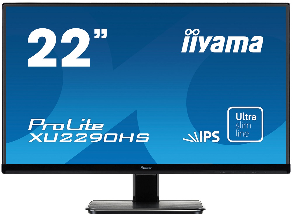 Монитор Iiyama XU2290HS-B1 21,5'' Black 1920x1080/TFT AH-IPS/4ms/VGA (D-Sub), DVI, HDMI, 2Wx2 100 pcs d sub 15 pin male solder type plug adapter vga connector serial ports db15m