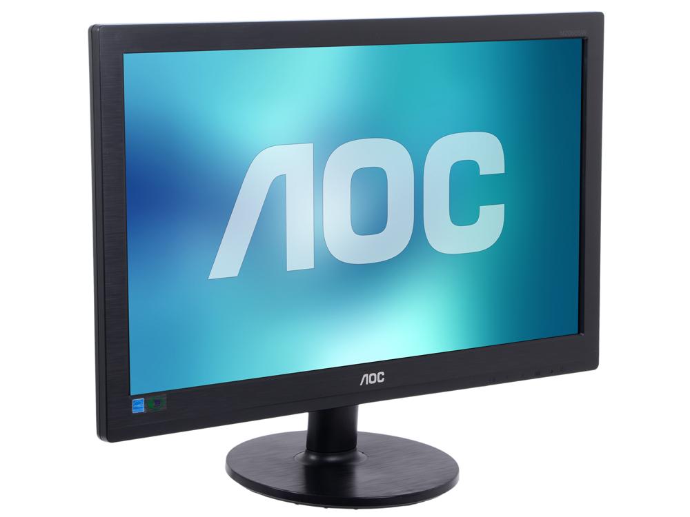 Монитор 19.53 AOC M2060SWDA2 Black 1920x1080, MVA, 5ms, 250 cd/m2, 3000:1 (DCR 50M:1), D-Sub, DVI, 2Wx2, vesa монитор aoc i2276vwm 21 5 ips black