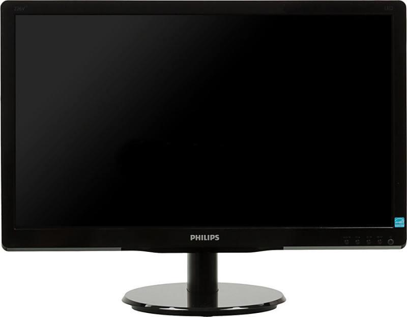 Монитор Philips 226V4LAB/01 21.5 черный монитор philips 226v4lab