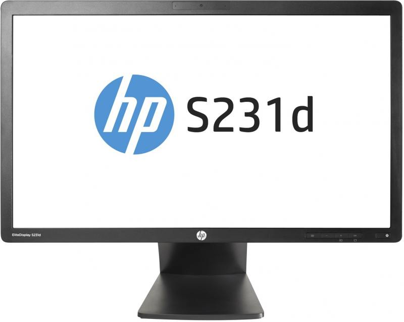 Монитор HP S231d 23 Black 1920x1080/IPS/7ms/VGA, DP, USB, Headph.Out, VESA