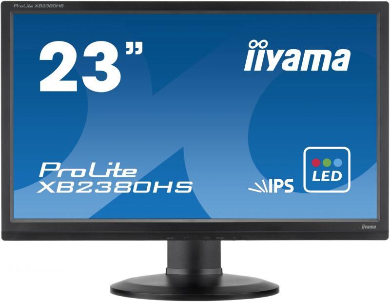 """Монитор iiYama Pro Lite XB2380HS-B1 23"""" черный"""