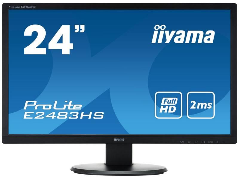 """Монитор iiYama Pro Lite E2483HS-B1 24"""" черный"""