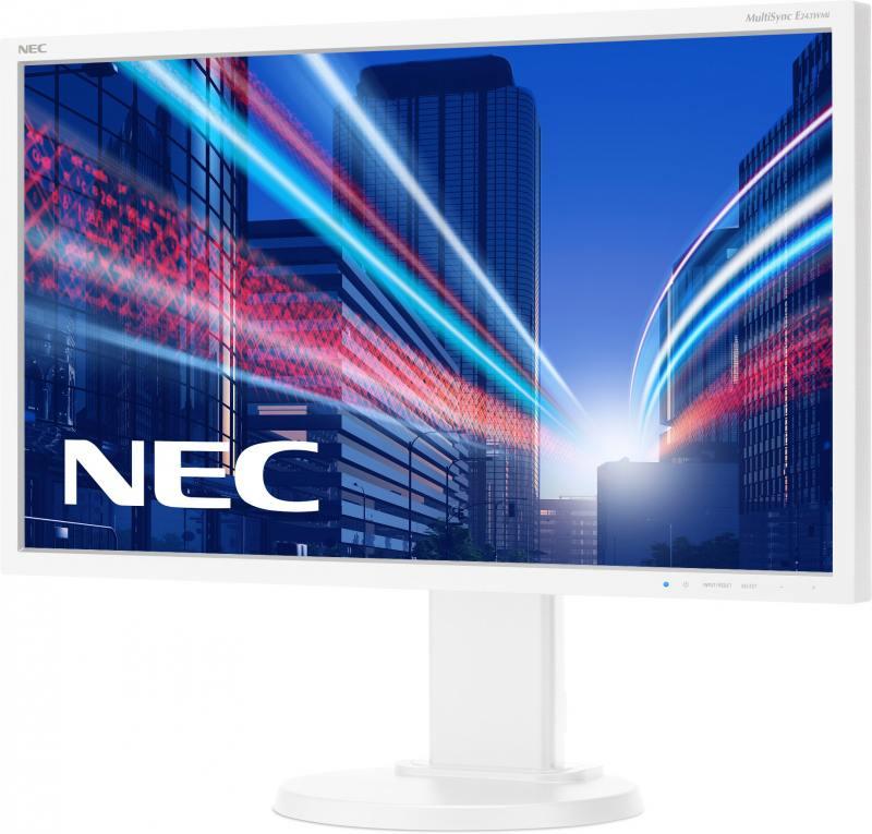 Монитор NEC E243WMi 24 белый серебристый монитор nec pa241w
