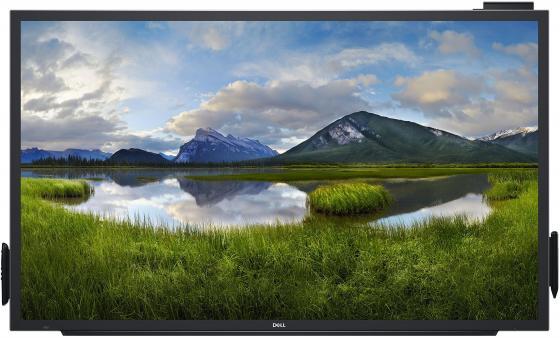 Монитор 55 Dell C5518QT IPS, 3840 x 2160, 8ms, 1200:1, 350 cd/m2, 3 x HDMI 2.0, DP, 2x10W, 3xUSB 3.0, VGA монитор жидкокристаллический nec монитор lcd 21 3 [4 3] 1600х1200 ips nonglare 440cd m2 h178° v178° 1500 1 16 7m color 8ms vga d