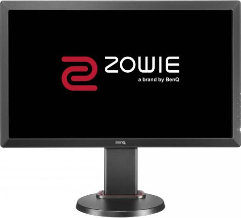 Монитор Benq Zowie RL2455T 24 Black 1920x1080/TFT TN/1ms/VGA (D-Sub), DVI, HDMI, 2Wx2, Headph.Out, VESA монитор benq zowie rl2455t