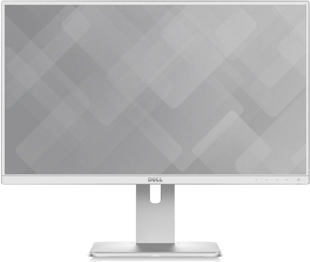 Монитор Dell U2417H 23.8 White 1920x1080/TFT IPS/8ms/DP, miniDP, HDMI, USB dell ultrasharp u2417h black монитор