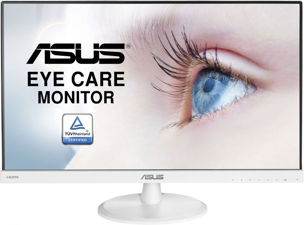 Монитор ASUS VC239HE-W 23 White 1920x1080/TFT IPS/5ms/VGA (D-Sub), HDMI, VESA 10 pcs d sub 15 pin male solder type plug adapter vga connector serial ports db15m