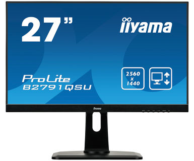 Монитор Iiyama 27 ProLite B2791QSU-B1 черный TN LED 1ms 16:9 DVI HDMI M/M матовая HAS Pivot 1000:1 монитор 27 iiyama g master gb2783qsu b1 tn led 2560x1440 1ms dvi hdmi displayport page 5