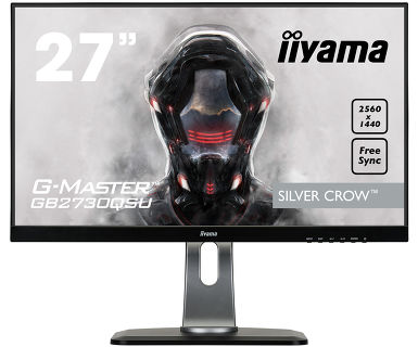 Фото - Монитор Iiyama 27 GB2730QSU-B1 черный TN+film LED 1ms 16:9 DVI HDMI M/M матовая HAS Pivot 1000:1 35 аксессуар mobiledata hdmi 4k v 2 0 плоский 1 8m hdmi 2 0 fn 1 8