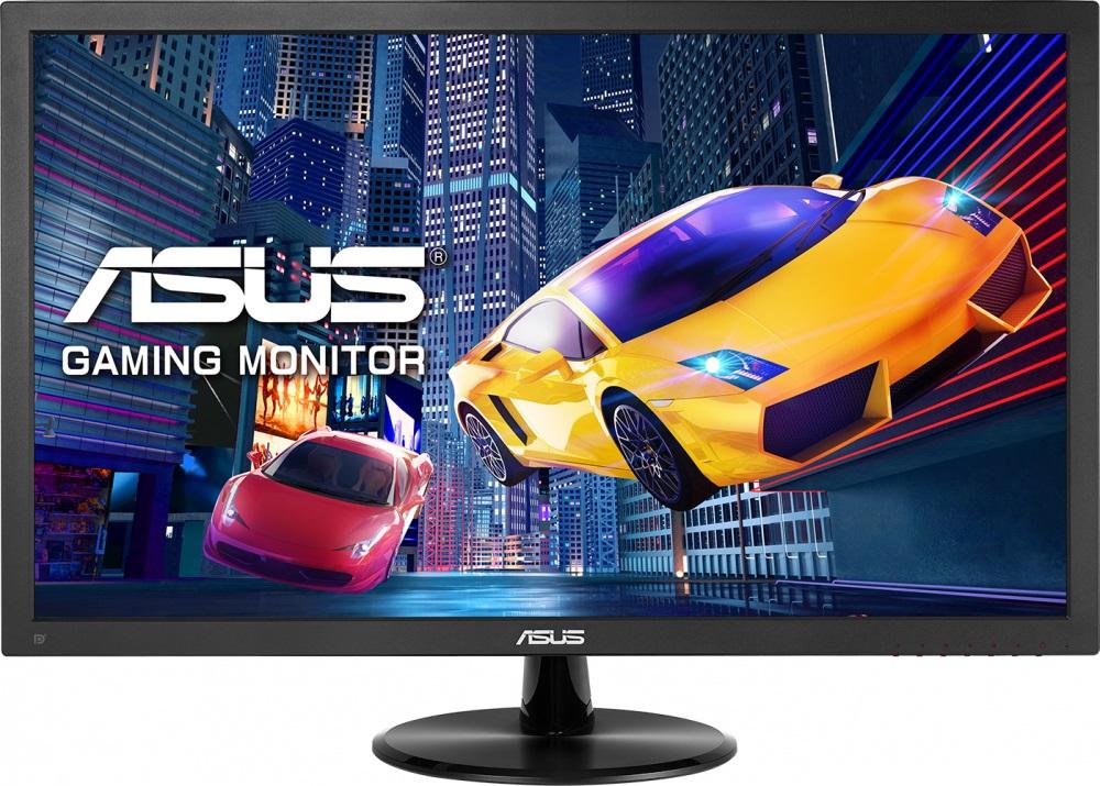 Монитор ASUS VP248QG 24 Black 1920x1080/TFT TN/1ms/D-Sub, DP, HDMI, 1.5Wx2, VESA монитор asus pa279q black