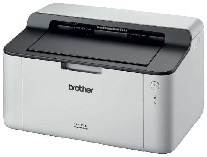 Принтер лазерный Brother HL-1110R, A4, 20стр/мин, USB (замена HL-1112R) принтер лазерный brother hl 1212wr a4 20стр мин usb wifi