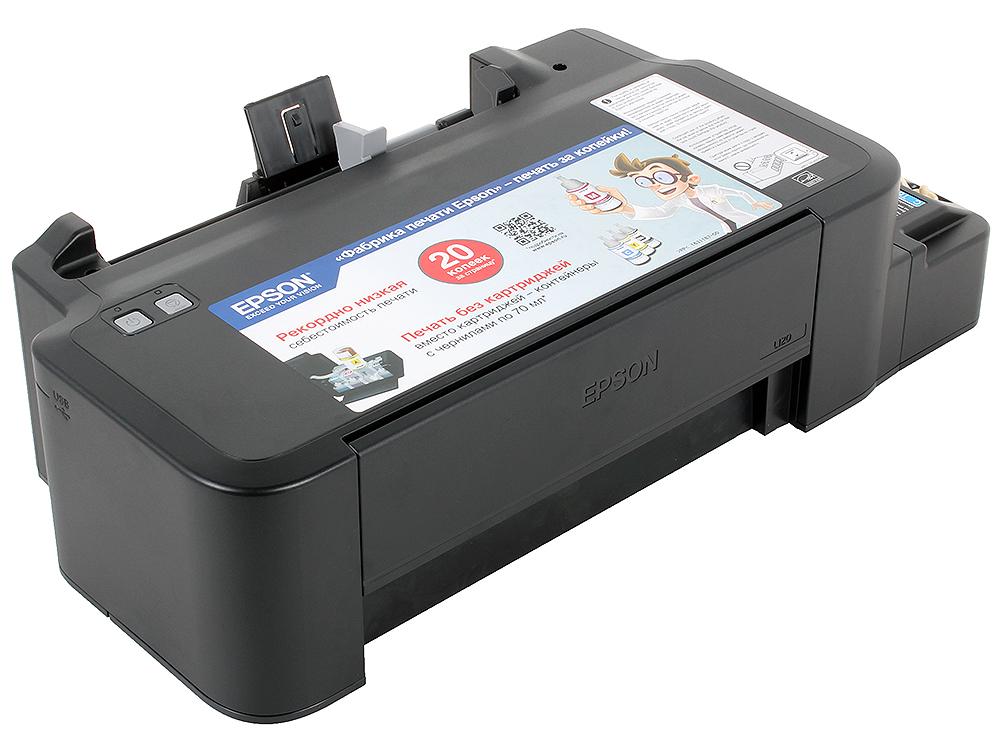 Принтер EPSON L120 (Фабрика Печати, 720x720dpi, струйный, A4, USB 2.0) принтер epson l312 струйный цвет черный [c11ce57403]
