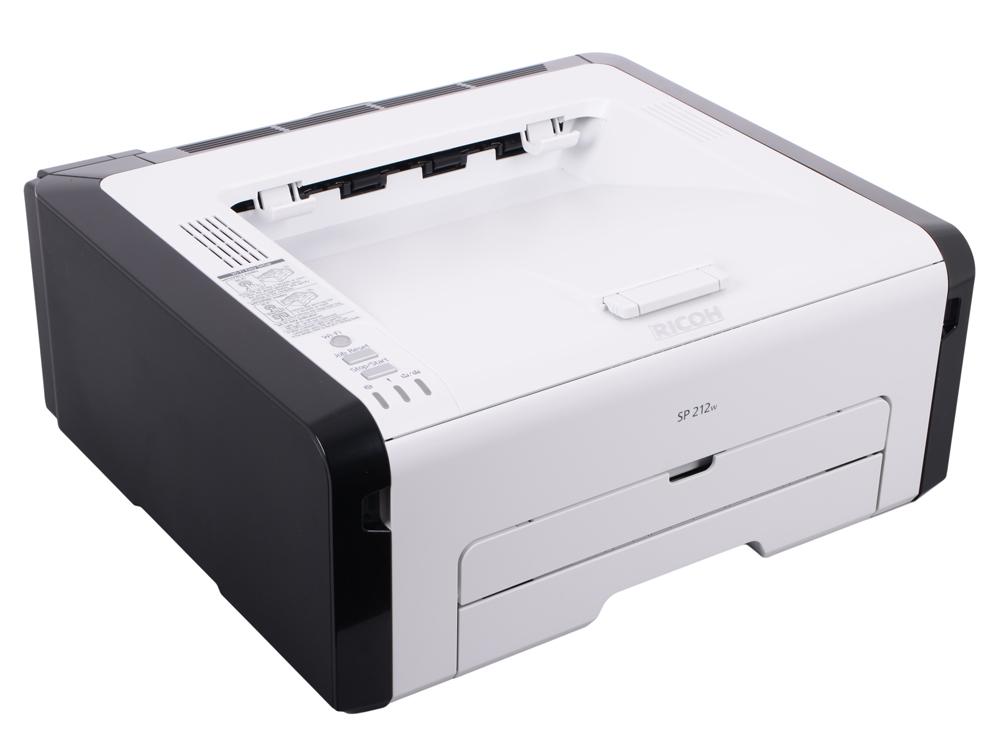 Принтер Ricoh SP 212w (Лазерный, 22 стр/мин, 1200х600dpi, 128мб, WiFi, USB, А4)