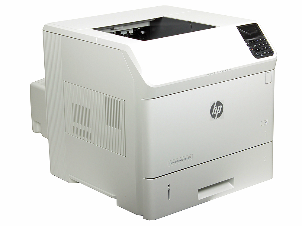 Принтер HP LaserJet Enterprise 600 M606dn A4, 62 стр/мин, дуплекс, 512Мб, USB, Ethernet (замена CE994A M603n, CE995A M603dn)