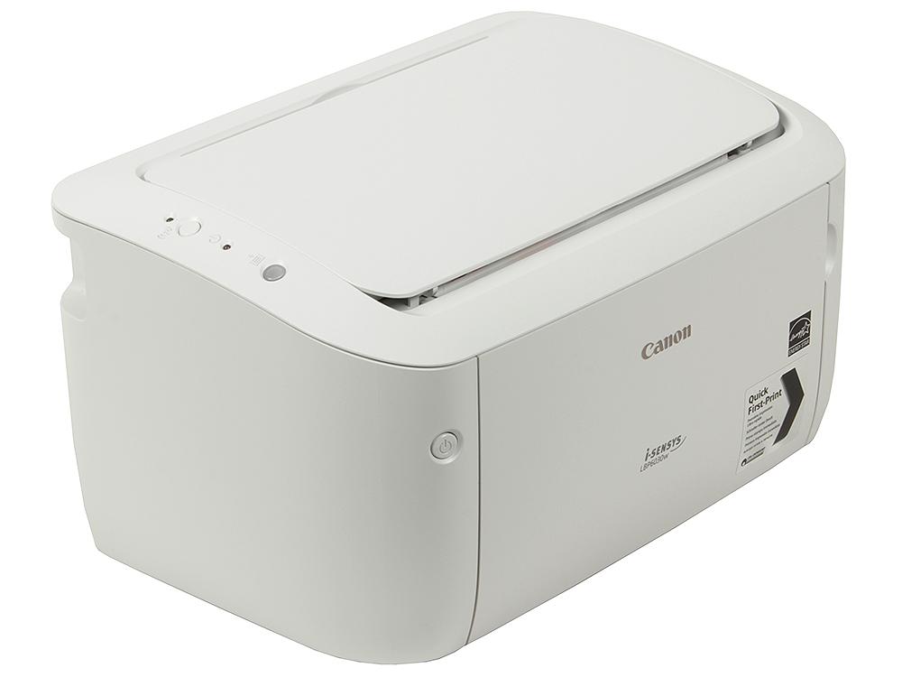 Принтер Canon I-SENSYS LBP6030W (Лазерный, 18 стр/мин, 2400x600dpi, Wi-Fi, USB 2.0, A4) принтер canon i sensys colour lbp613cdw лазерный цвет белый [1477c001]