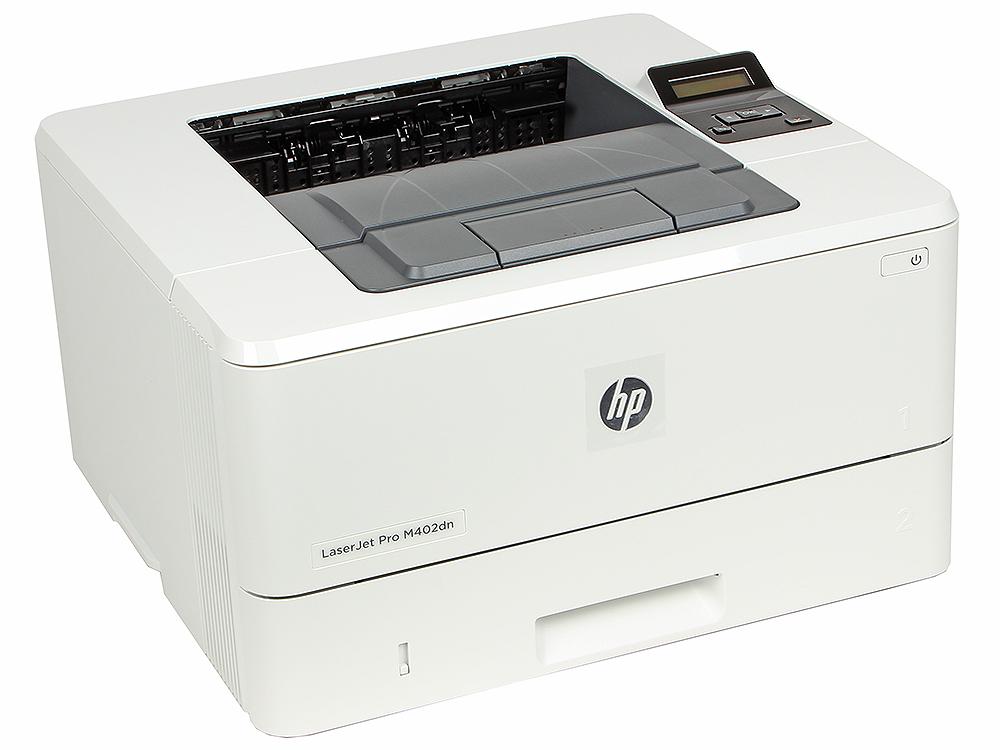 Принтер HP LaserJet Pro M402dn RU A4, 33 стр/мин, дуплекс, 128Мб, USB, LAN (замена CF278A M401dn, CF399A M401dne)