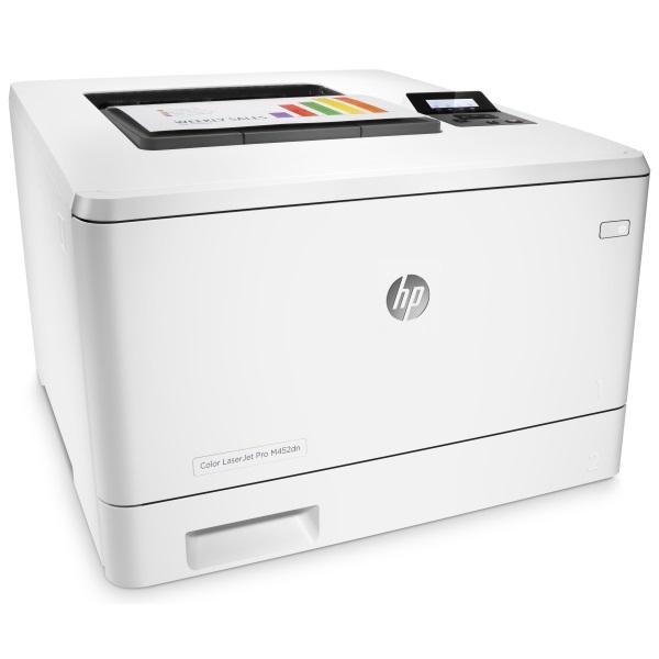 Принтер HP Color LaserJet Pro M452dn A4, 27/27 стр/мин, дуплекс, 384Мб, USB, LAN (замена CE957A M451dn)