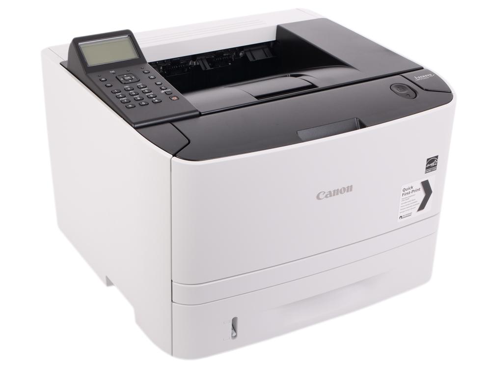 Принтер Canon I-SENSYS LBP252DW EU SFP 33 страниц, LAN, Wi-fi, duplex, USB 2.0 canon 712 1870b002 black картридж для принтеров lbp 3010 3020