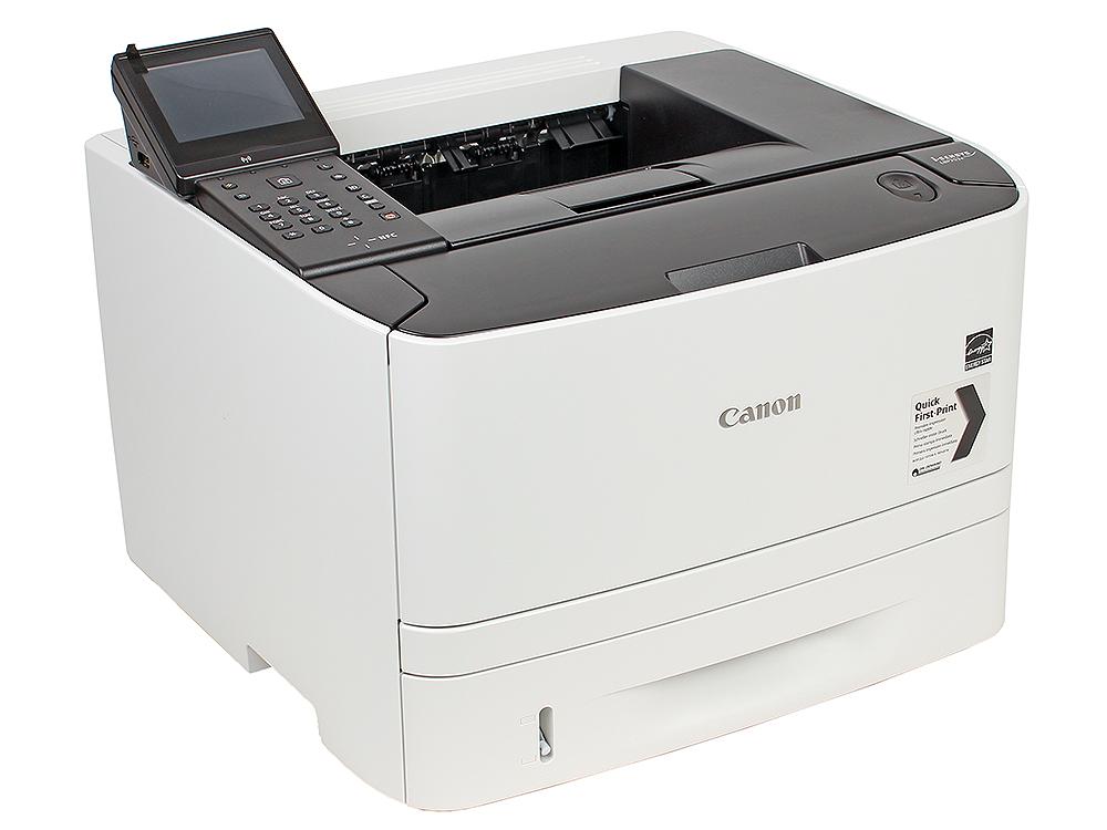 Принтер Canon I-SENSYS LBP253X EU SFP 33 страниц, LAN, NFC, Wi-fi, duplex, USB 2.0 принтер canon i sensys lbp253x ч б a4 33ppm 1200х1200dpii ethernet wifi usb 0281c001