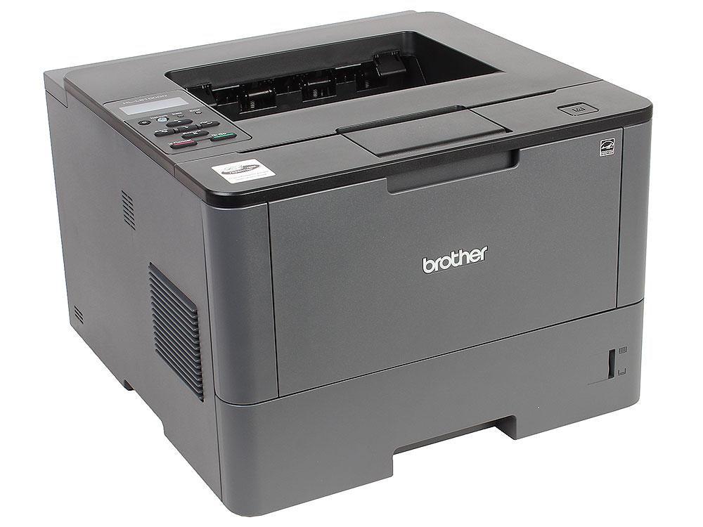 Принтер лазерный Brother HL-L5100DN A4, 40стр/мин, дуплекс, 256Мб, USB, LAN (замена HL-5450DN)