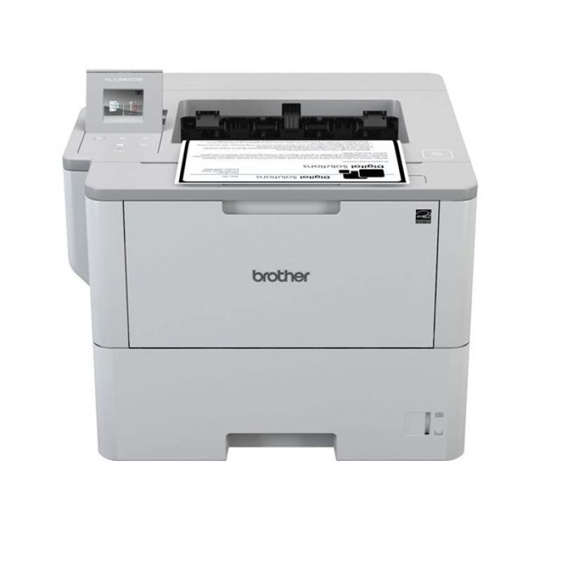 Принтер лазерный Brother HL-L6400DW A4, 50стр/мин, дуплекс, 512Мб, USB, LAN, WiFi, NFC принтер лазерный brother hl 1112r лазерный цвет черный [hl1112r1]