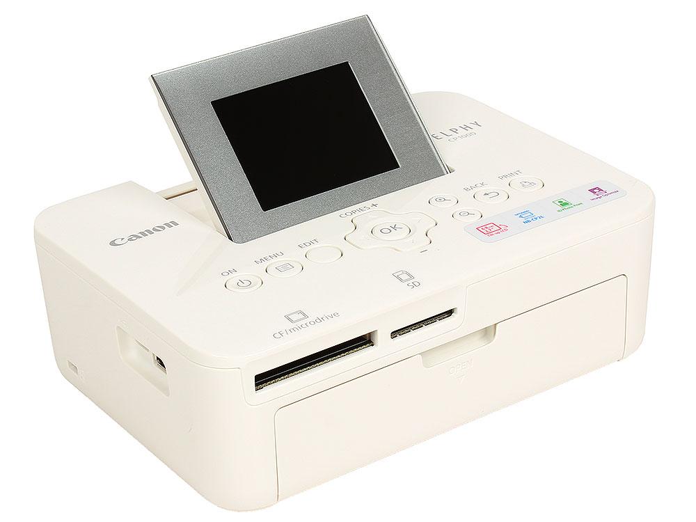Принтер Canon SELPHY CP1000 White (термосублимационный, 10x15, 300x300dpi, LCD, USB, WiFi, PictBridge)