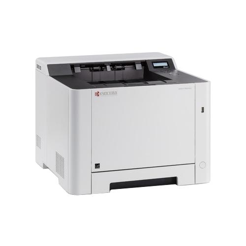 Принтер Kyocera P5021cdn (Лазерный, цветной, 21 стр./мин., дуплекс, ADF, USB) лазерный принтер kyocera color p5021cdw