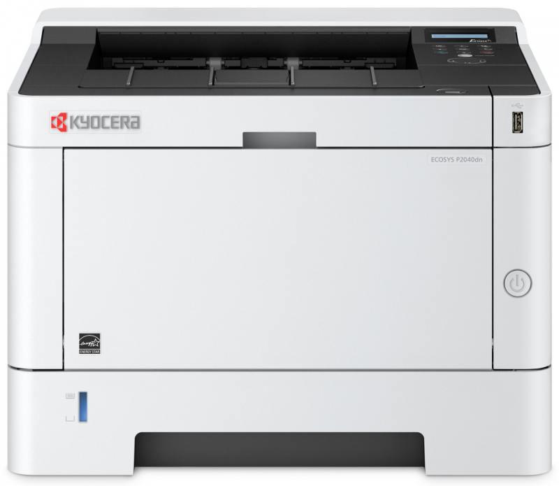 Принтер Kyocera P2040DN (Лазерный, A4, 1200dpi, 256Mb, 40 ppm, дуплекс, USB, Network)