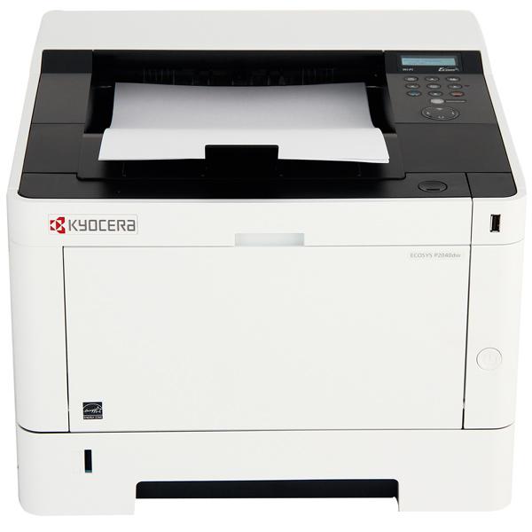 Принтер Kyocera P2040Dw лазерный Настольный офисный / черно-белый / 40 стр/м / 1200x1200 dpi / А4 / USB, RJ45, Wi-Fi