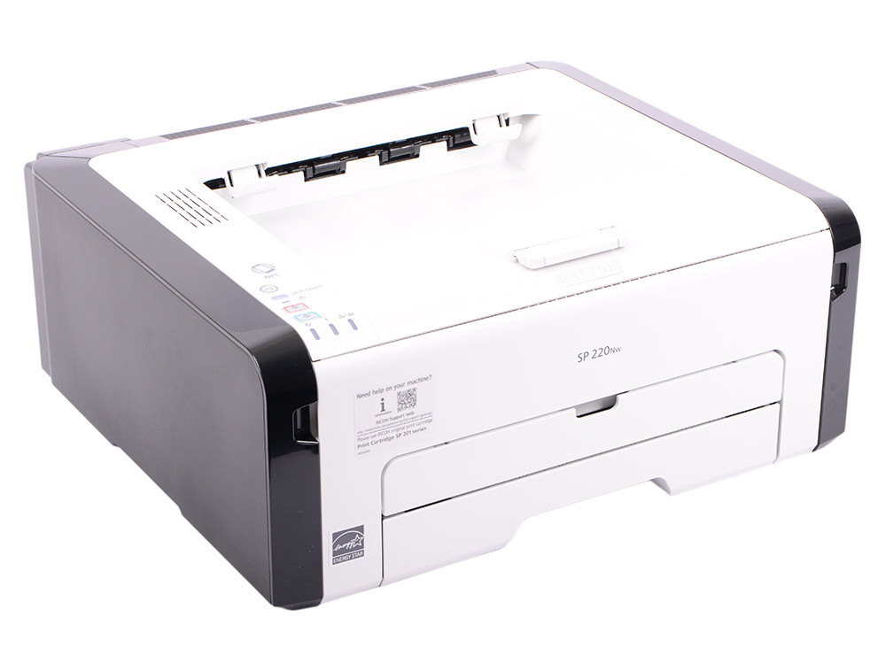 Принтер Ricoh SP 220Nw (картридж 700стр.) (Лазерный, 23 стр/мин, 1200х600dpi, 128мб, LAN, WiFi, USB, А4)