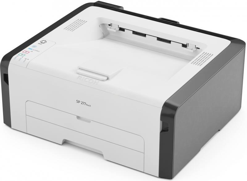 Принтер Ricoh SP 277NwX (картридж 2600стр.) (Лазерный, 23 стр/мин, 1200х600dpi, 128мб, LAN, WiFi, USB, А4)