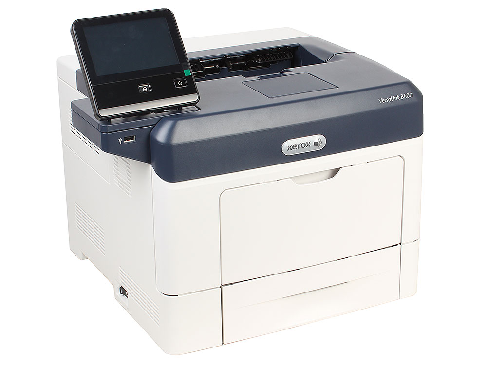 Принтер Xerox VersaLink B400V DN (A4, лазерный, 45стр/мин, до 110K стр/мес, 2048 MB, USB, Ethernet, Duplex)