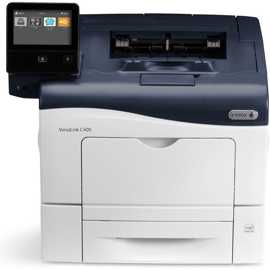 Принтер Xerox VersaLink C400DN Цветная, A4, Laser, 35/35ppm, max 80K pages per month, USB, Ethernet, Duplex.