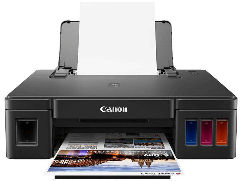Принтер Canon PIXMA G1410 Струйный, СНПЧ, 4800x1200, 8,8 изобр./мин для ч/б, 5,0 изобр./мин для цветной, A4, A5, B5, LTR, конверт, фотобумага: 13x18 с принтер canon i sensys colour lbp653cdw лазерный цвет белый [1476c006]