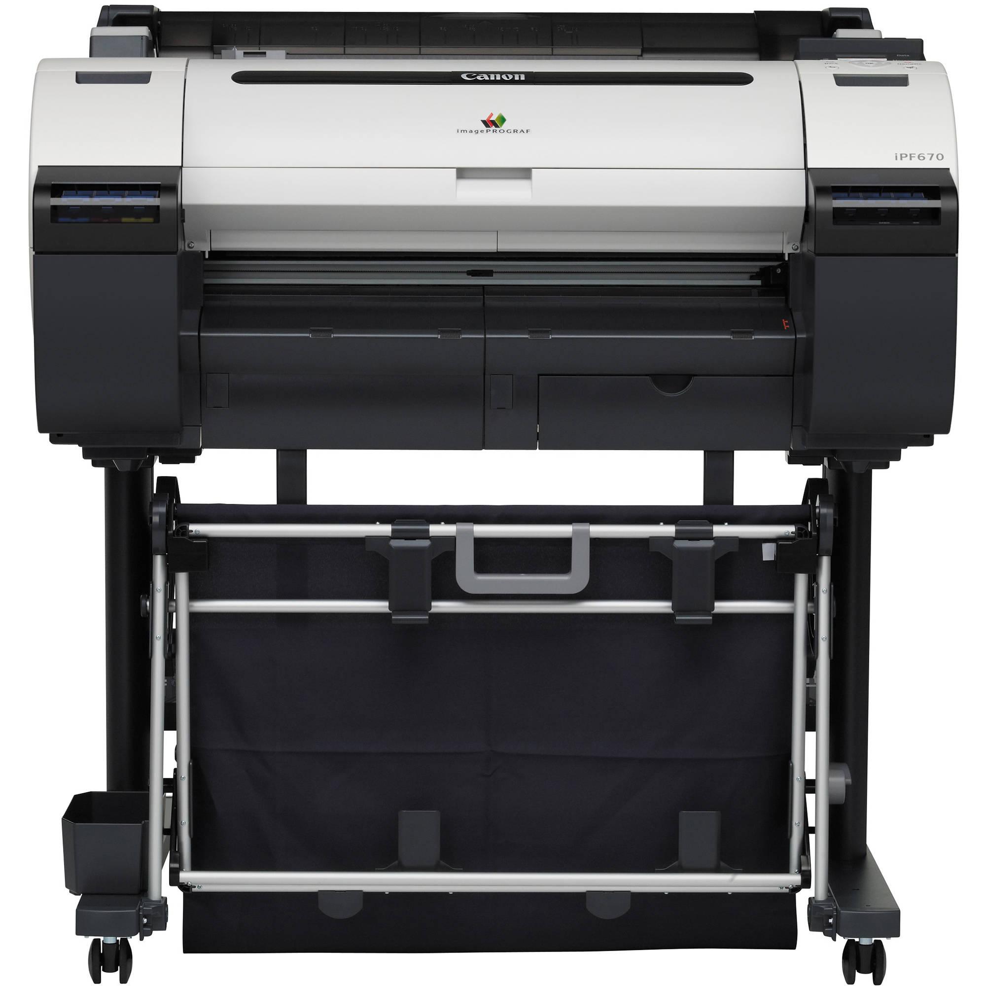 Плоттер Canon imagePROGRAF iPF670 (24, A1, 2400x1200dpi, LAN, USB 2.0) плоттер canon imageprograf ipf785