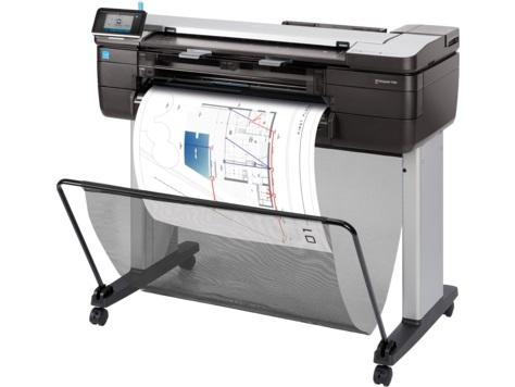 Плоттер HP Designjet T830 24 MFP (F9A28A) принтер/сканер/копир, A1, 1Гб, USB, LAN, WiFi плоттер hp designjet t830 36 f9a30a