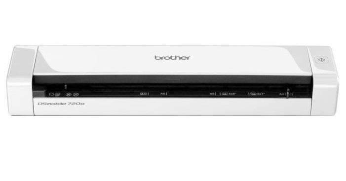 Сканер Brother DS-720D сканер brother ads1100w черный [ads1100wr1]