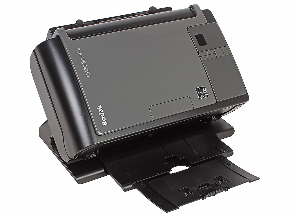 Сканер Kodak i2420 (Цветной, двухсторонний, А4, ADF 75 листов, 40 стр/мин., арт. 1120435) сканер kodak i2420