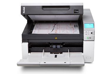 Сканер Kodak i3250 Цветной, двухсторонний, А3, ADF 250 листов, 50 стр/мин., встроенный планшет А4 kodak i2820